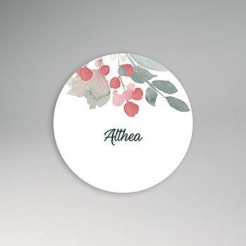 Etiket geboorte - Althea - 0