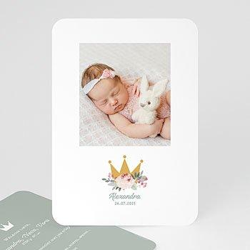 Geboortekaartje meisje - Little Princess - 0
