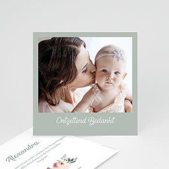 Bedankkaartje geboorte dochter - Little Princess - 0