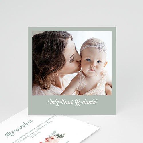 Bedankkaartje geboorte dochter Little Princess