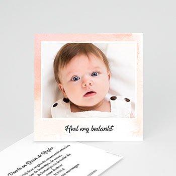 Bedankkaartje geboorte dochter - Kleine Prinses - 0