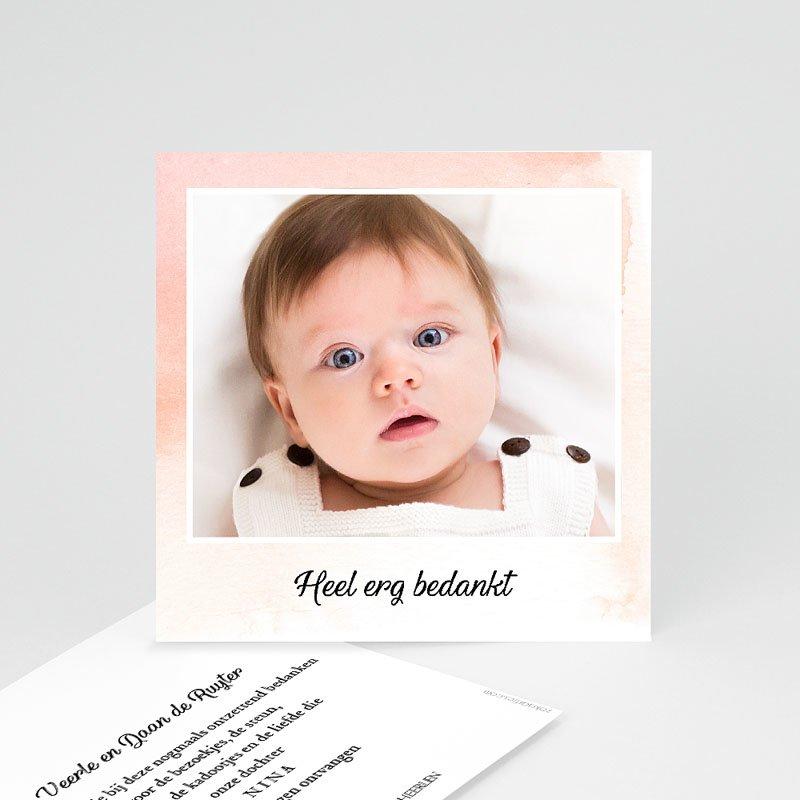 Bedankkaartje geboorte dochter - Kleine Prinses 59786 thumb