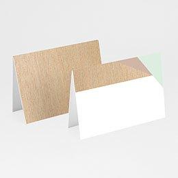 Tafelkaartjes huwelijk Gekleurd hout