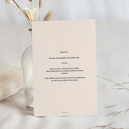Chique bedankkaartjes huwelijk - Pastel blossoms 59908 thumb