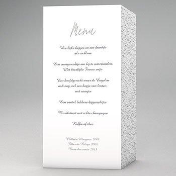 Menukaarten huwelijk - Sweet elegance - 0