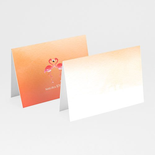 Tafelkaartjes Bruiloft Sunset