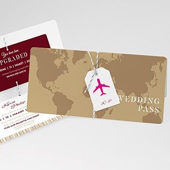Trouwkaarten reizen - Wedding Pass - 0