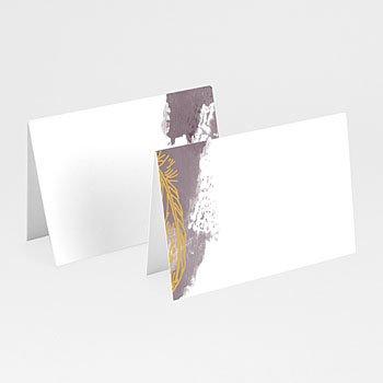 Tafelkaartjes huwelijk - Boho Heart Wood - 0