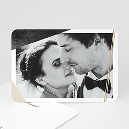 Bedankkaartjes Huwelijk Mineraal