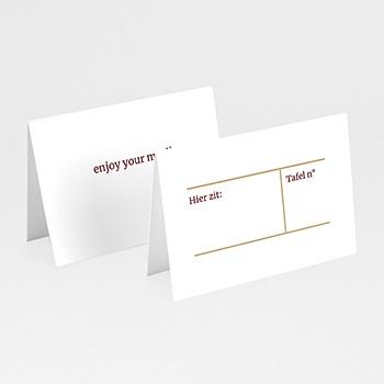 Tafelkaartjes huwelijk - Wedding Pass - 0