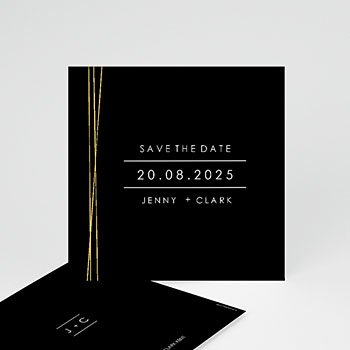 Save the date kaartjes - Minimalist Chic - 0