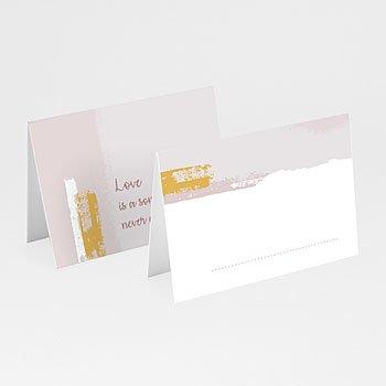 Tafelkaartjes huwelijk - Rozenkwarts - 0