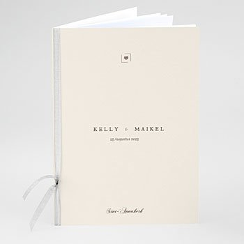 Boekomslag voor trouwboekjes - Modern Nude - 0