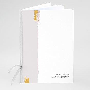 Boekomslag voor trouwboekjes - Rozenkwarts - 0