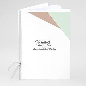 Boekomslag voor trouwboekjes - Gekleurd hout - 0