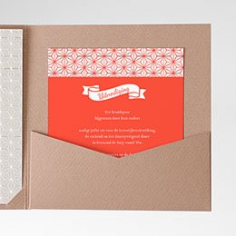 Cartes d'invitations Origami