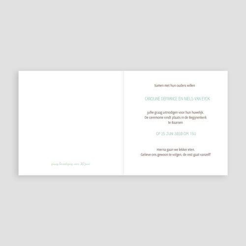 Trouwkaarten met foto - Paris Tour Eiffel 60949 thumb