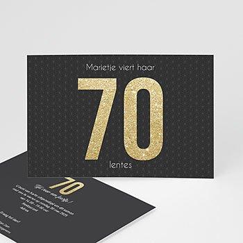 Verjaardagskaarten volwassenen - 70 or - 0