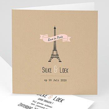 Trouwkaarten reizen - Paris - 0