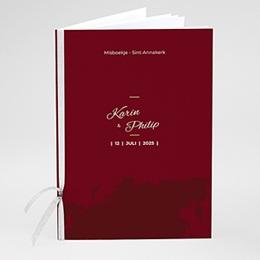 Boekomslag voor kerkboekje Wedding Pass