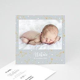 Geboortekaartje jongen Sterrenhemel