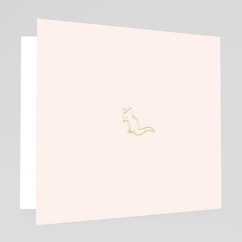 Geboortekaartjes Meisje Hello World roze gratuit