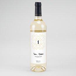 Etiket Voor Wijnfles Alhambra
