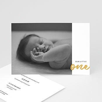 Geboortekaartje jongen - Little One - 0