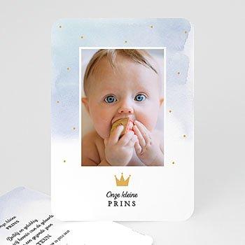 Geboortekaartje jongen - Prince of Love - 0