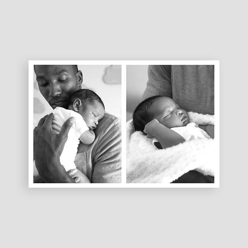 Bedankkaartje geboorte zoon Little One pas cher