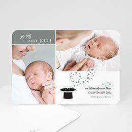Geboortekaartje jongen Miracle