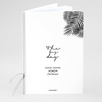 Boekomslag voor trouwboekjes - Golden Oasis - 0