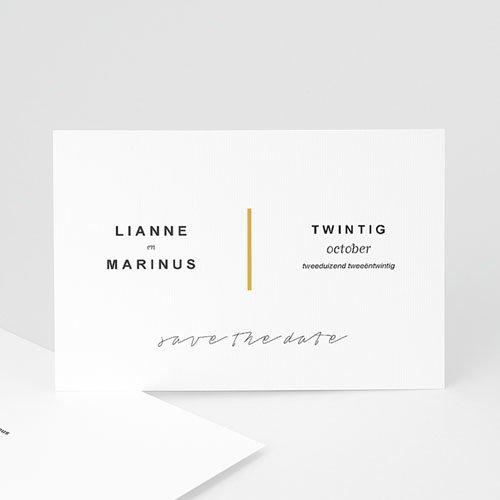 save the date kaartjes - minimalistische & geometrische | zokaartjes