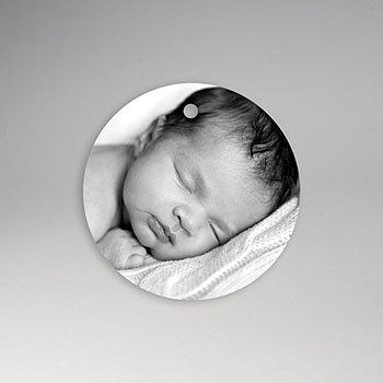 Etiket geboorte - Initiaal - 0