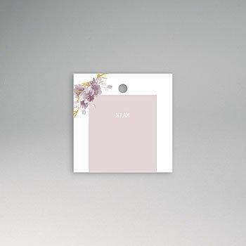 Tafelkaartjes huwelijk - Vintage Chic Roze - 0