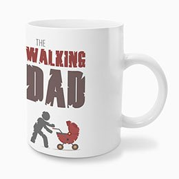 Gepersonaliseerde Fotomokken Vaderdag - The Walking Dad - 0