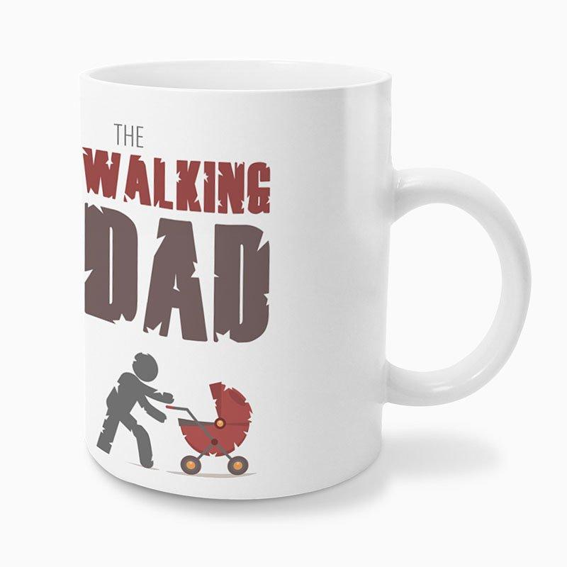 Gepersonaliseerde Fotomokken Vaderdag The Walking Dad