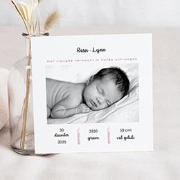 Aankondiging Geboorte Cutie