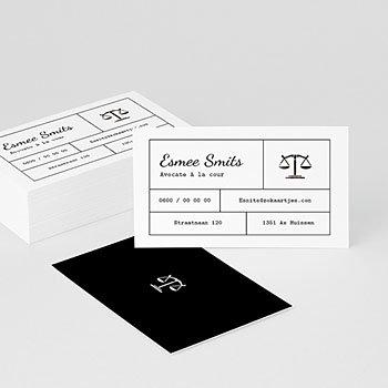 Visitekaartjes - Advocaat - 0