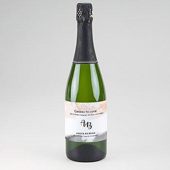 Etiket voor Champagnefles - Aquarello - 0