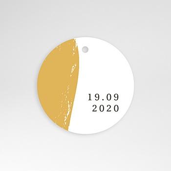 Etiket huwelijk - Goud folie Brushes - 0