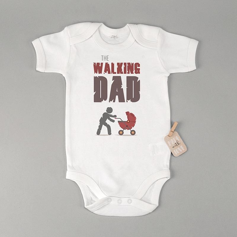 Gepersonaliseerde Baby Bodysuits My Walking Dad