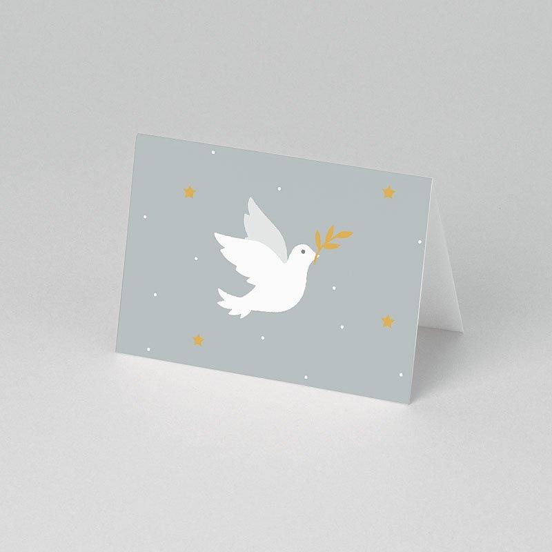 Plaatskaartjes Communie - Holly Spirit Grijs 62316 thumb