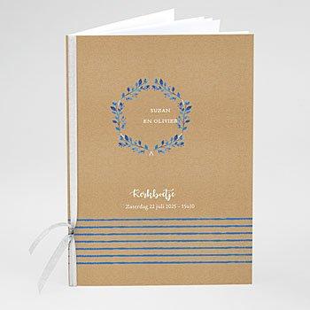Boekomslag voor kerkboekje - Mediterrane stijl - 0