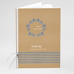 Boekomslag voor kerkboekje Mediterrane stijl