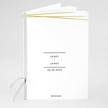 Boekomslag voor kerkboekje - Minimal Chic - 0