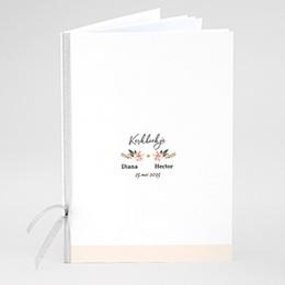 Boekomslag voor kerkboekje Pastel blossoms