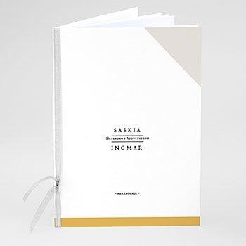 Boekomslag voor trouwboekjes - Nieuw avontuur - 0