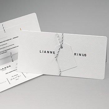Chique trouwkaarten - Minimalistische & Geometrische - 0