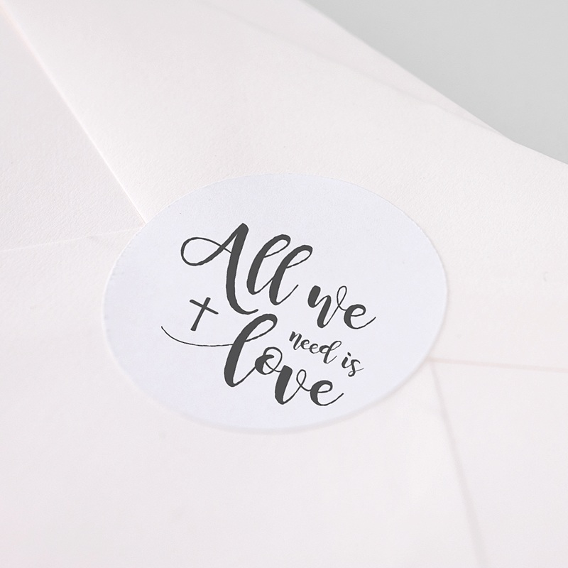 Stickers communie - Love Jesus 62785 thumb